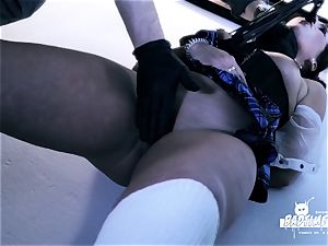 BADTIME STORIES - bondage & discipline with German nubile and domina