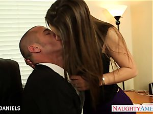 Office honey Dani Daniels take trouser snake