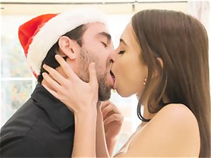Riley Reid - My furry tight vag needs Santa's enormous pecker