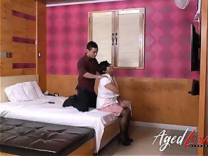 AgedLovE hot brazilian Mature hardcore act flick