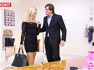 LETSDOEIT - Tailor Seduced And drills young customer