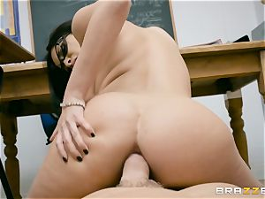 anal rammed mummy schoolteacher Anissa Kate in class