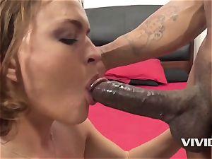Krissy Lynn Gets A rock-hard big black cock In Her vag