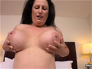 immense natural breasts mummy gets xxx tearing up