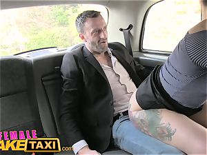 doll fake taxi Belgium porno man plumbs stellar cabbie