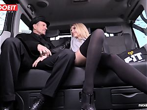 cab Driver finishes off several Times In mind-blowing Czech fuckbox