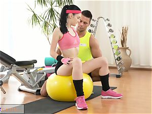 sport rooms tight new teenager has fat ejaculation
