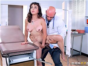 Cytherea is left pumping out as she visits the physician