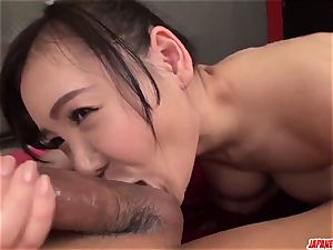 conclude chinese gonzo sex with chesty Miu Watanabe