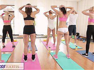 FitnessRooms After gym class sweaty bang-out sessions
