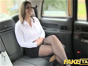 fake taxi office girl in stocking butt licking ass-fuck hookup