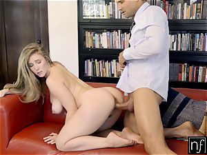fortunate guy Gets perfect figure Lena Paul For Night S7:E3