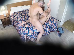insatiable Nina Elle screws her dude at the hotel