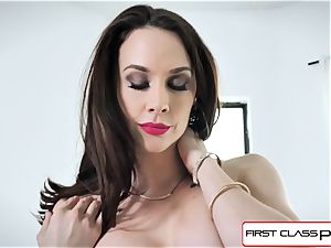 FirstClassPOV - luxurious Chanel Preston fellate a ample cock
