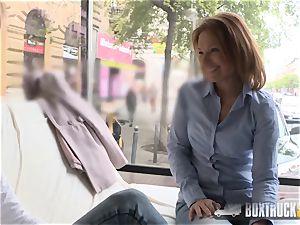 astounding Szilvia Lauren astonished by the model agent