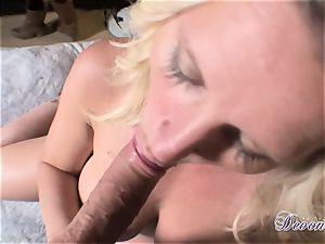 Devon Lee is lovinТ her man's flog wedged in her delicious hatch