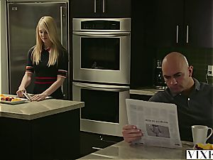 VIXEN nubile Lily Rader pounded By step-dad