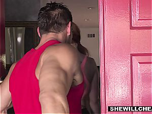 SheWillCheat - super hot bodacious wifey plowing individual Trainer
