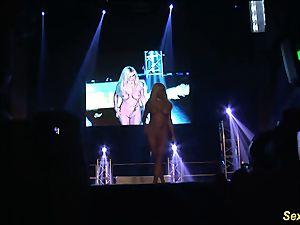 insane flexi stepmom nude on stage