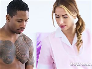 Private.com multiracial double penetration threesome with Ani dark-hued Fox