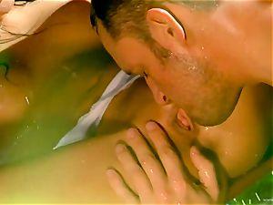 Asa Akira likes getting her wet gash bashed