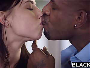 BLACKED beautiful student Aidra Fox Takes 2 BBCs