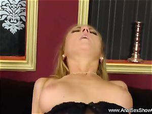 ultra-cute ash-blonde sense the heavy fucky-fucky in Her butt