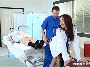 wondrous physician Monique Alexander tears up her trainee