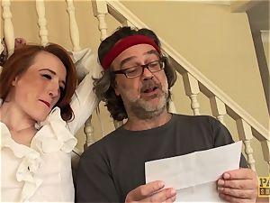 PASCALSSUBSLUTS - Sabrina Jay dicked stiff in restrain bondage