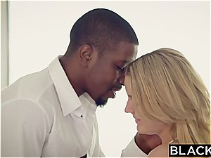 youthful Marley Matthews doggie-style pounded by big black cock
