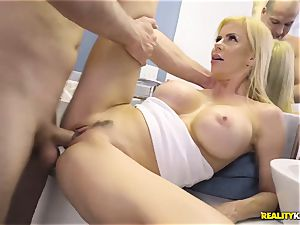 incredible hookup with ultra-kinky big breasts mummy Alexis Fawx and her stepson
