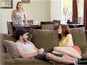 Bratty sister - watching TV, Caught fuckin' My StepSister