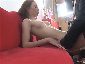 Serpente Edita With ebony Nylons penetrated