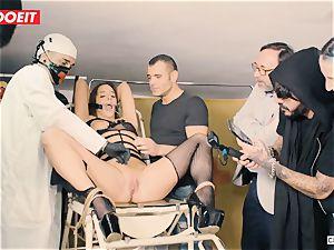 LETSDOEIT - Amirah Is manhandled at her first bondage & discipline party