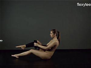 FlexyTeens - Zina showcases lithe bare figure