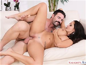 Ava Addams boinked on the couch