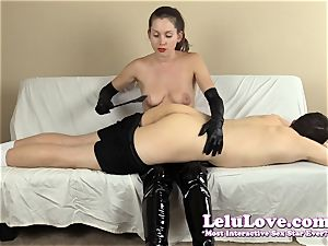 female domination slapping his culo with my hairbrush arms..