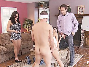 gang hook-up and Hangman with lovely couples two