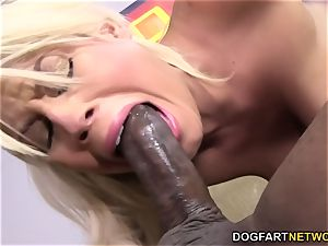 Bridgette B gets anal invasion from big black cock