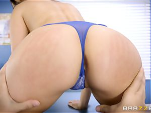 molten bombshell Melissa Moore plowed by doctor Keiran Lee
