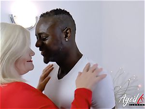 AgedLovE Lacey Starr multiracial hard-core ass fucking