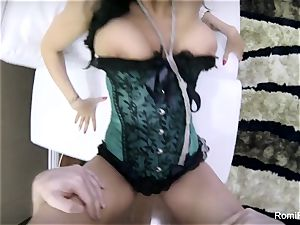 fabulous Romi gives a super-hot point of view blowage and plow
