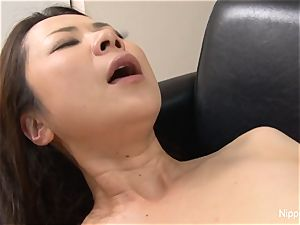 japanese milf penetrated rock hard while her acquaintance tapes it