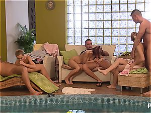 kinky pool party part 7