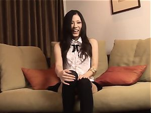 casting concludes with a superb ravage for chinese Yui Komine