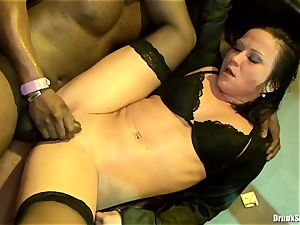 Bibi Fox lock fuck hole the key of a steaming studs with friends