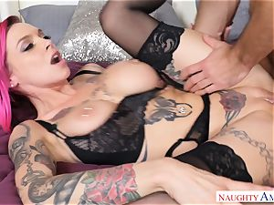Anna Bell Peaks getting crammed in her pussyhole