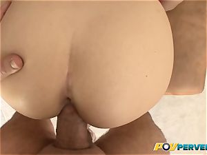 diminutive Gabriella Paltrova is banged Up Her cock-squeezing ass