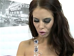 super hot Megan Coxxx plaything boinks her dripping clunge