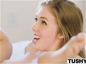 TUSHY huge-boobed honey screws her sisters ex bf